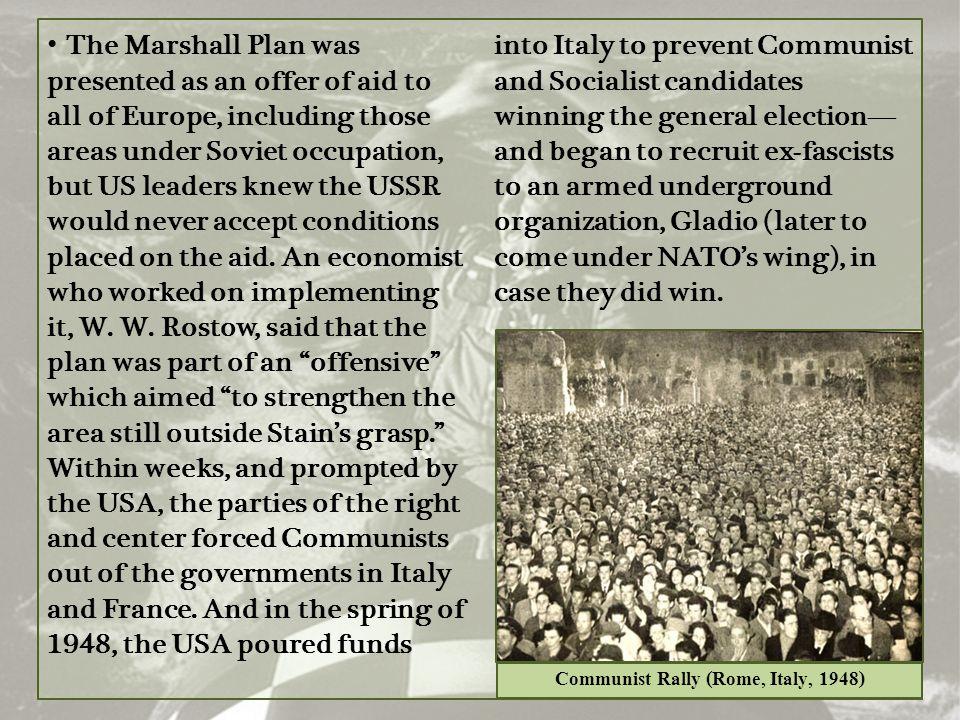 Communist Rally (Rome, Italy, 1948)