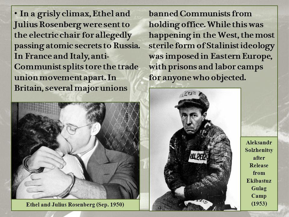 Aleksandr Solzhenitsy after Release from Ekibastuz Gulag Camp (1953)
