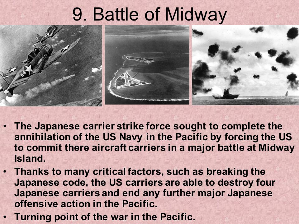 9. Battle of Midway