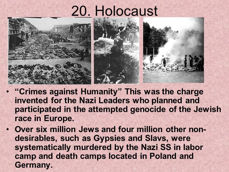 20. Holocaust