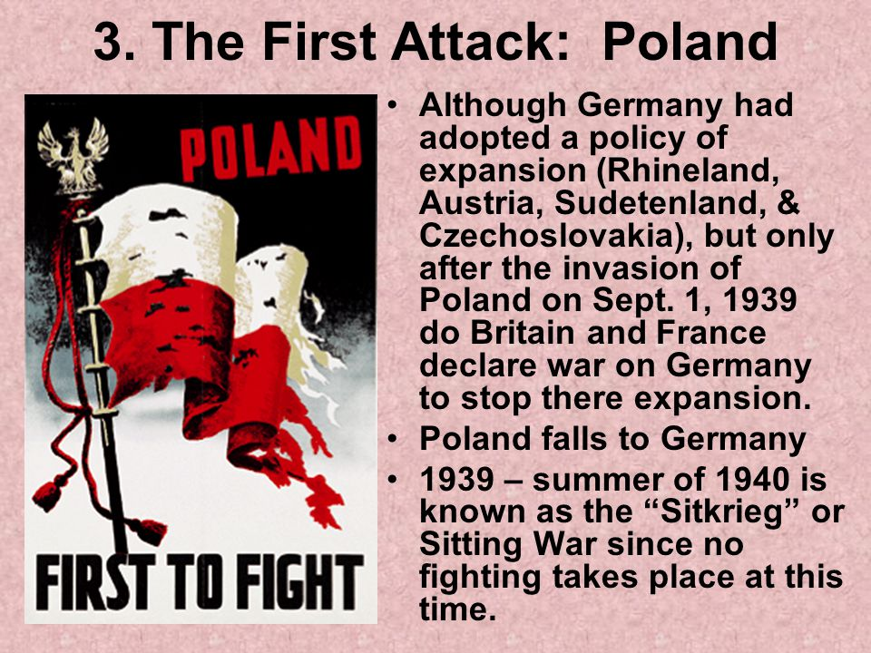 3. The First Attack: Poland