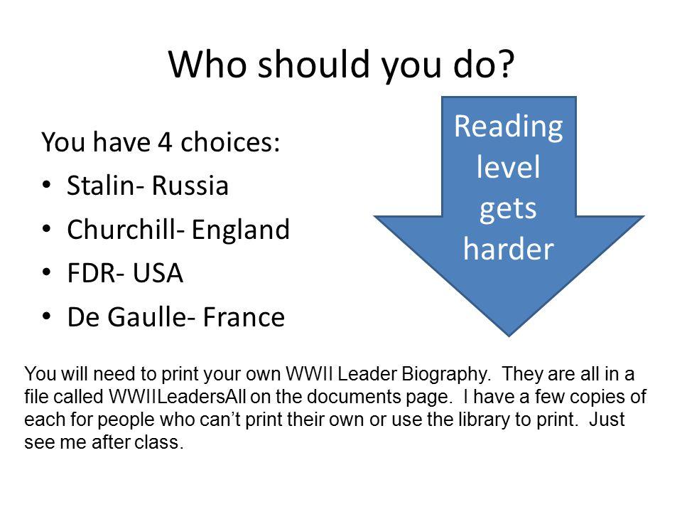 Reading level gets harder