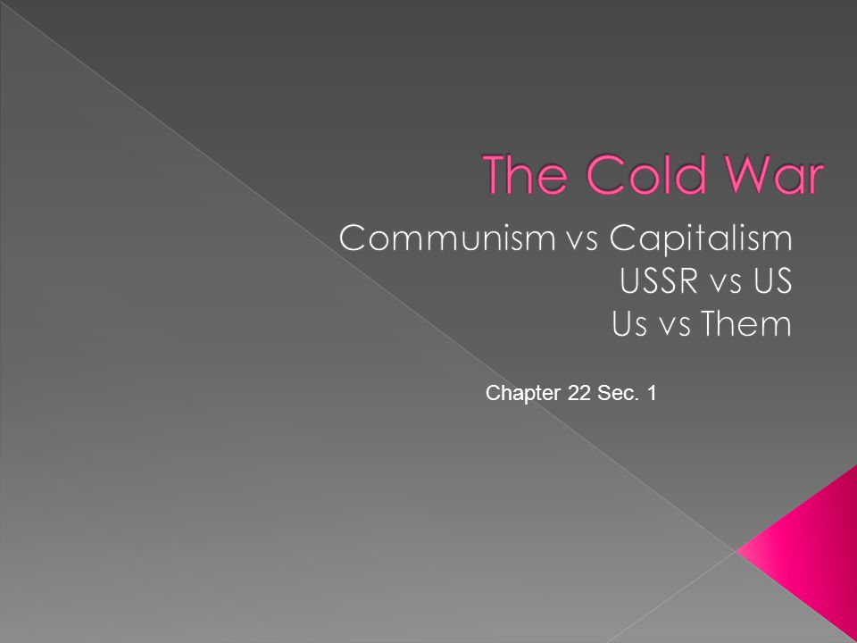 Communism vs Capitalism USSR vs US Us vs Them