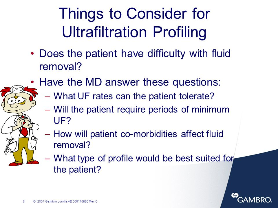 Things to Consider for Ultrafiltration Profiling