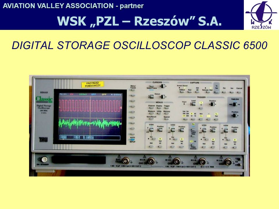 DIGITAL STORAGE OSCILLOSCOP CLASSIC 6500