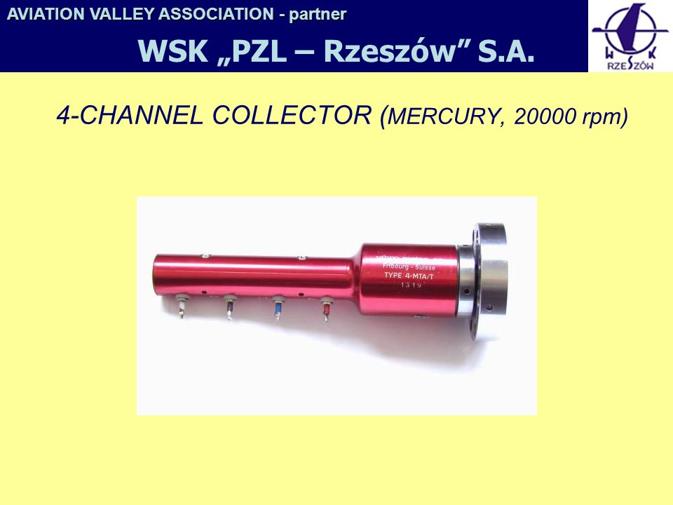 4-CHANNEL COLLECTOR (MERCURY, 20000 rpm)