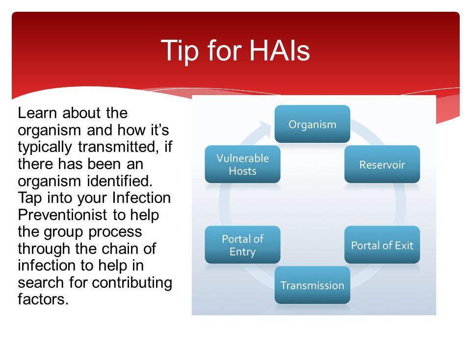 Tip for HAIs