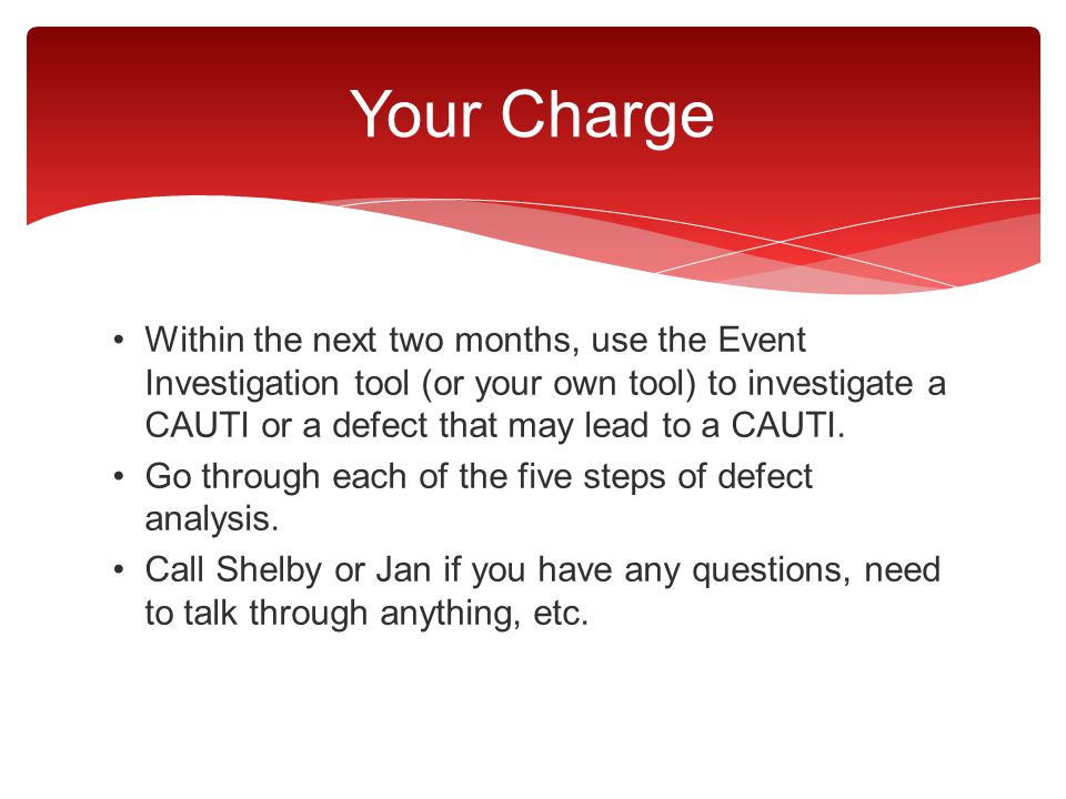 Your Charge