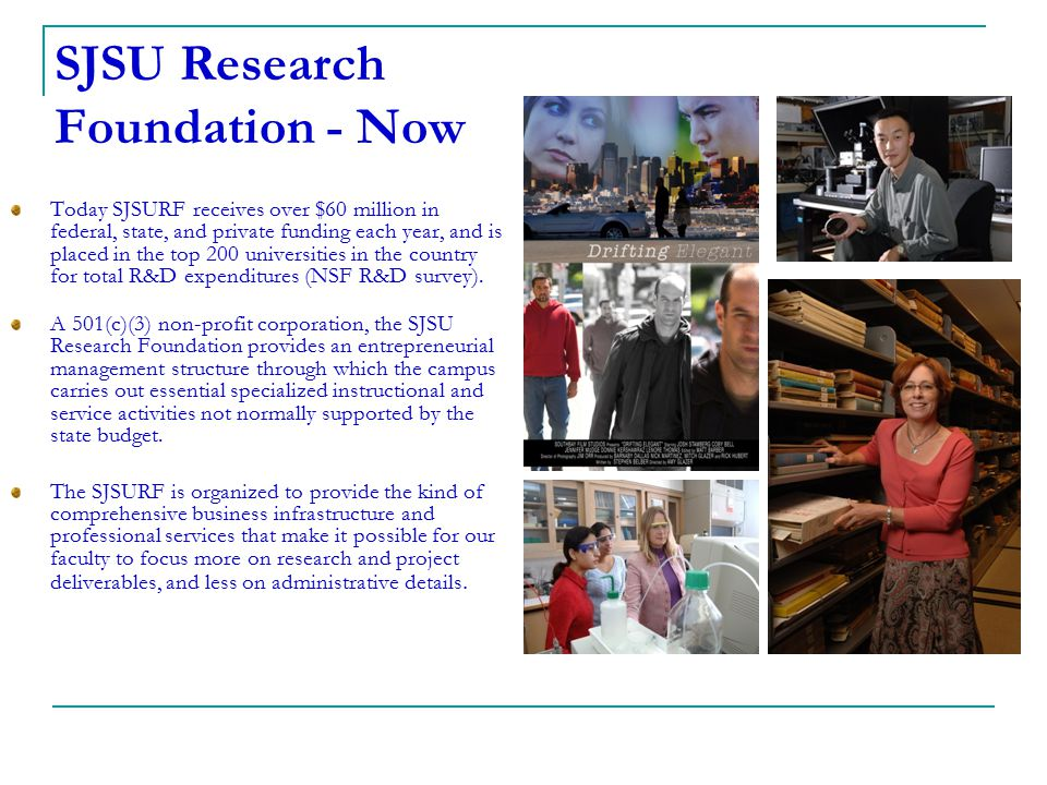 SJSU Research Foundation - Now