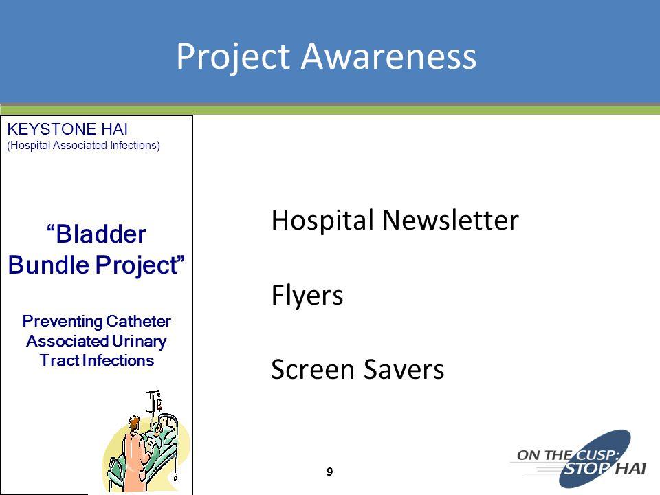 Project Awareness Hospital Newsletter Flyers Screen Savers