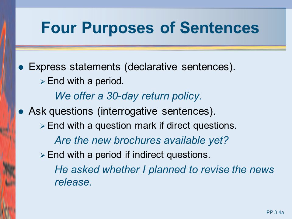 Four Purposes of Sentences