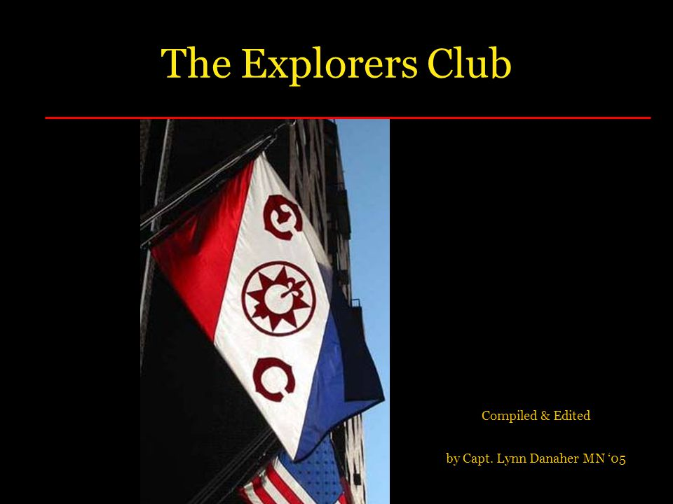 Compiled & Edited by Capt. Lynn Danaher MN '05