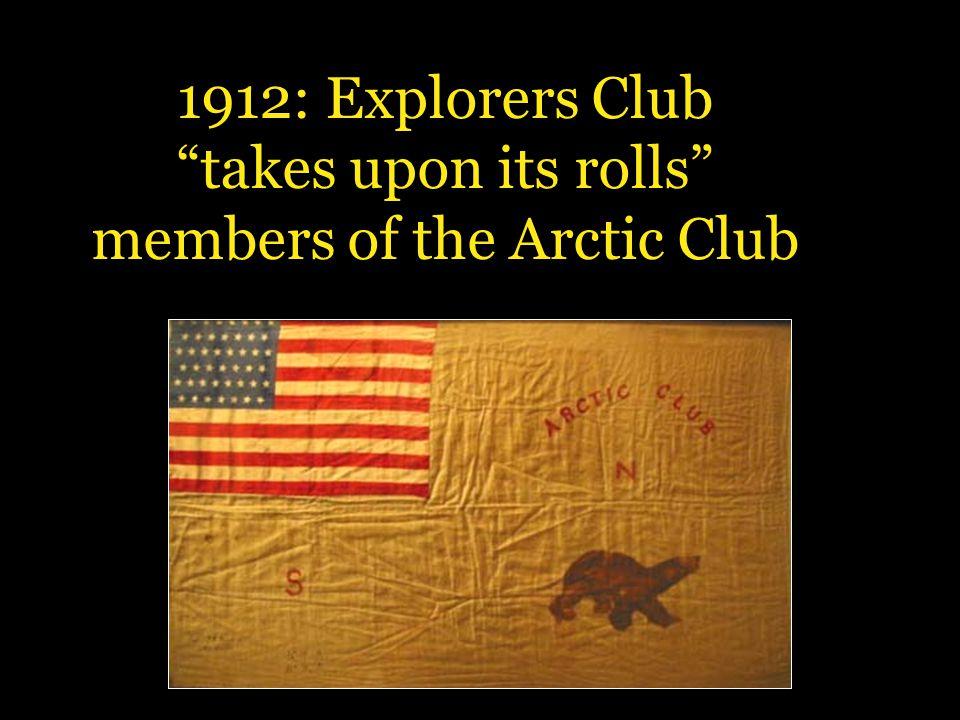 members of the Arctic Club