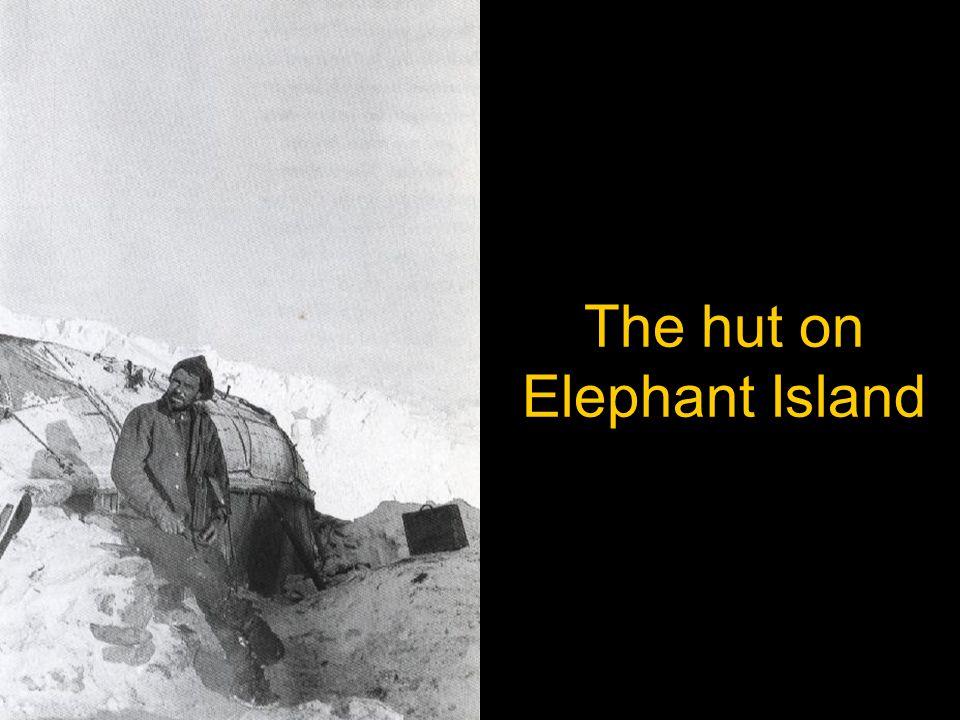 The hut on Elephant Island