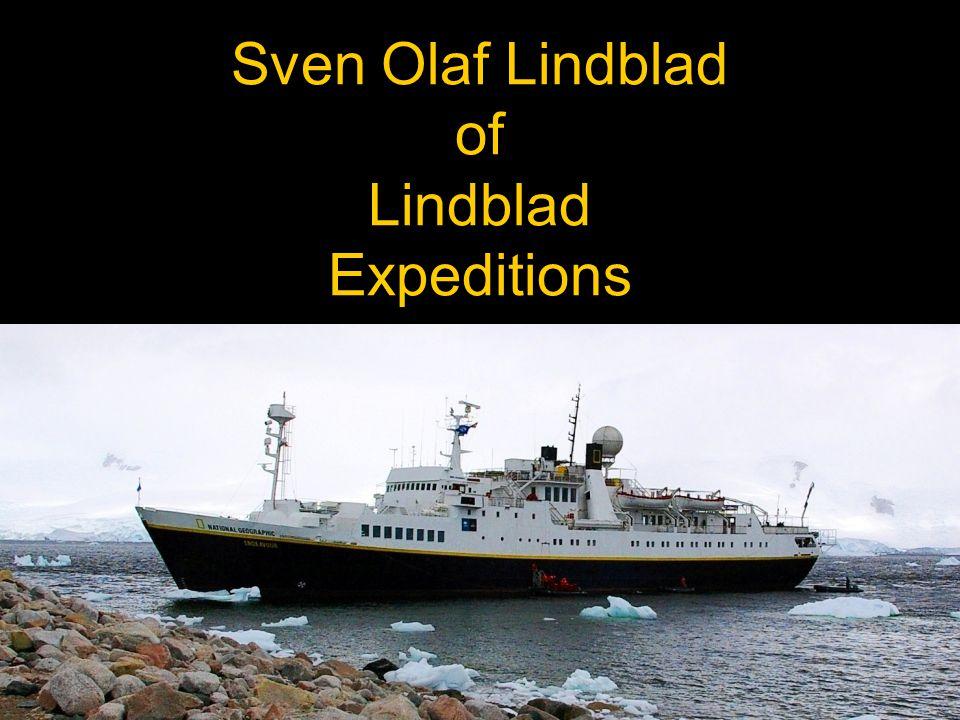 Sven Olaf Lindblad of Lindblad Expeditions