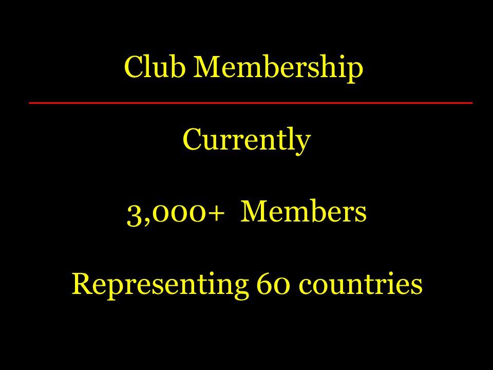 Representing 60 countries