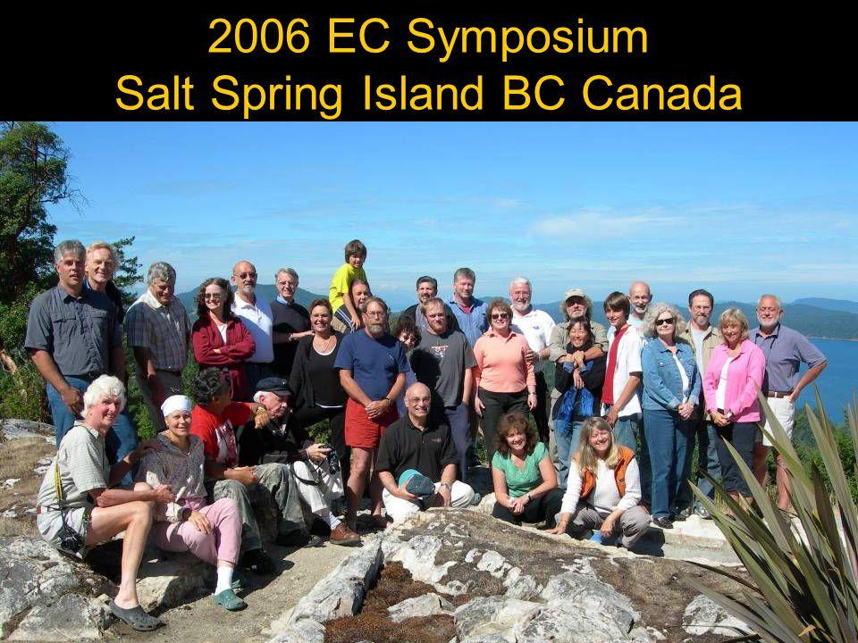 2006 EC Symposium Salt Spring Island BC Canada