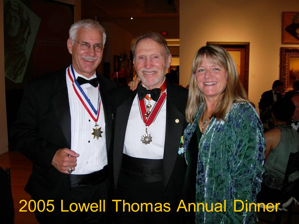 2005 Lowell Thomas Annual Dinner