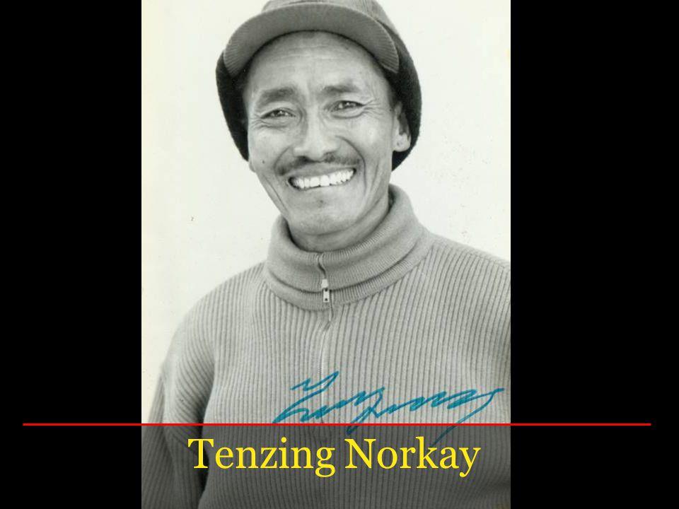 Tenzing Norkay