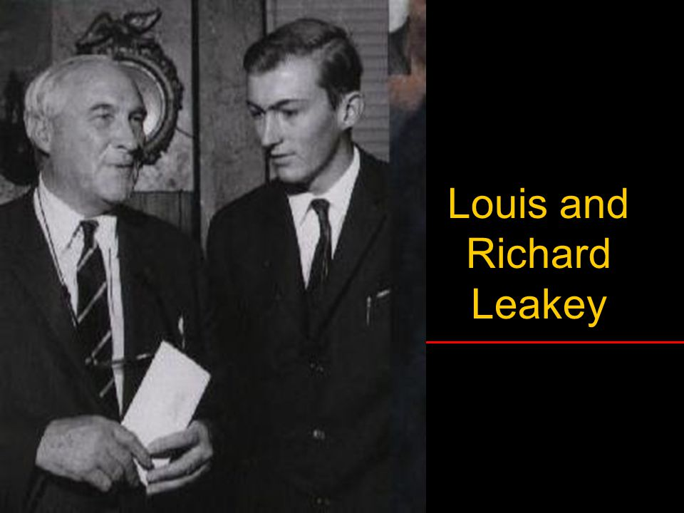 Louis and Richard Leakey