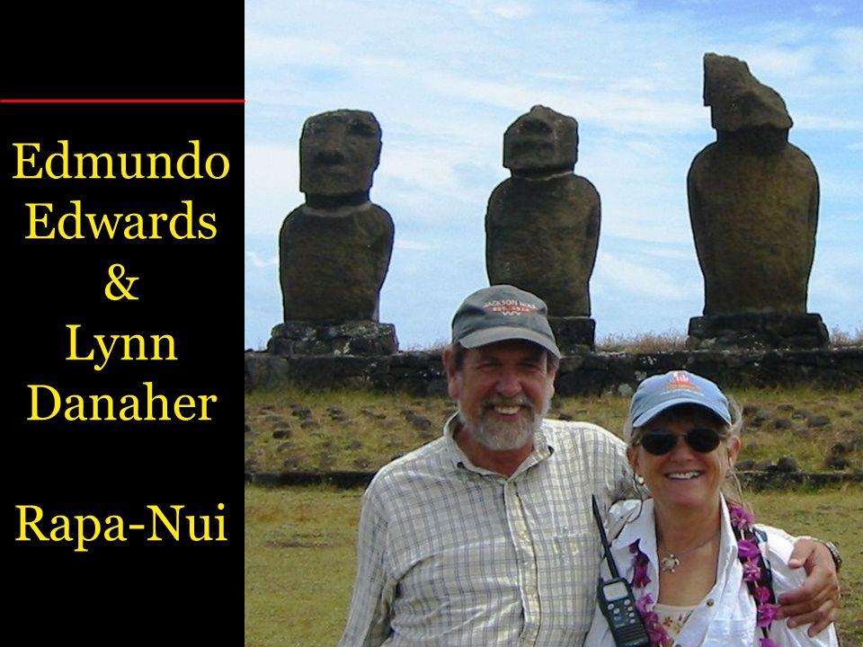 Edmundo Edwards & Lynn Danaher Rapa-Nui