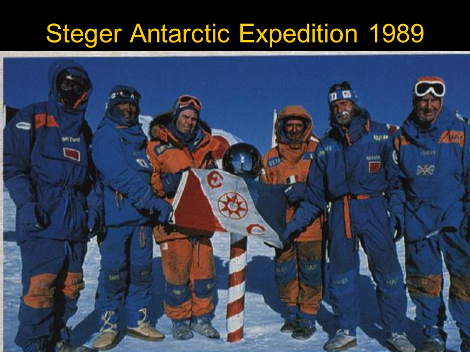 Steger Antarctic Expedition 1989