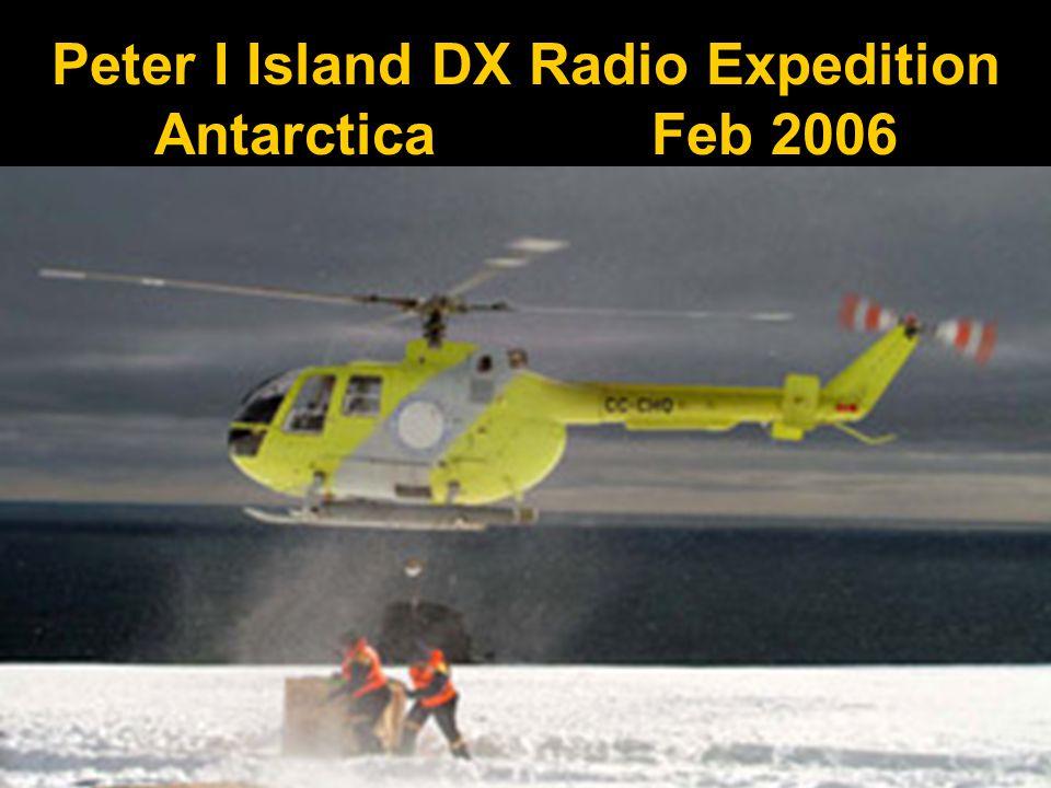Peter I Island DX Radio Expedition Antarctica Feb 2006