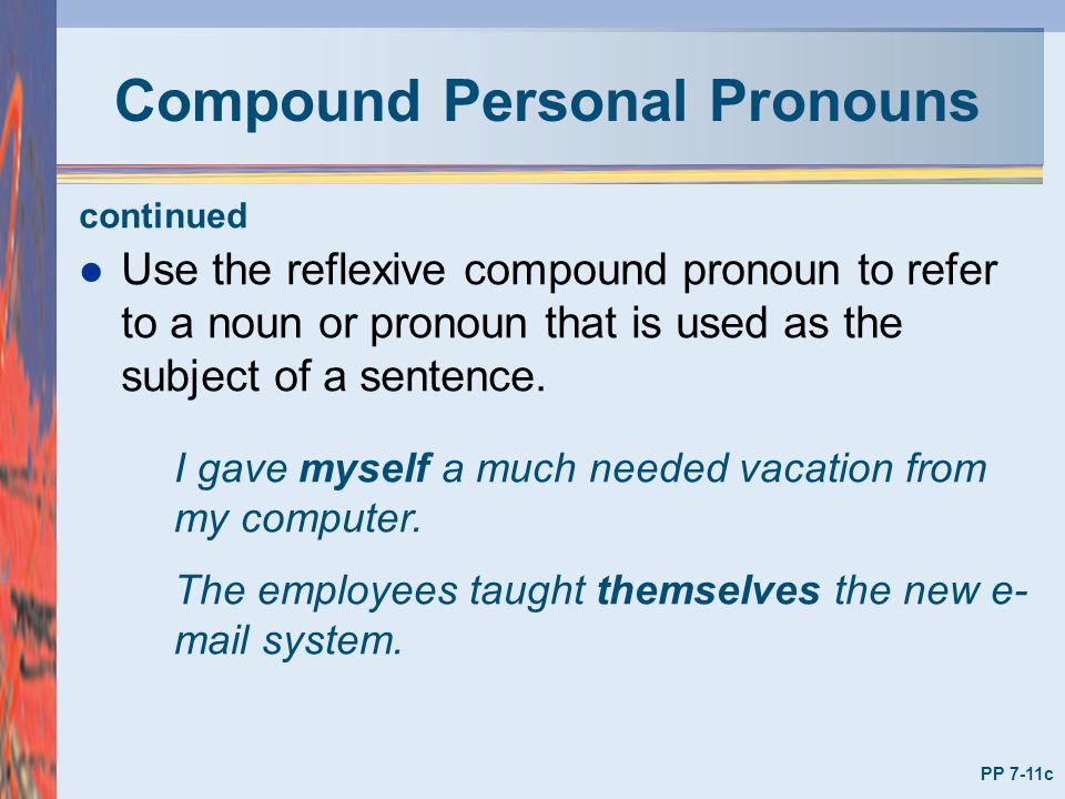 using third person pronouns to describe myself essay In the third-person point of view, third-person point of view relates events using third-person pronouns such about myself in the third person.