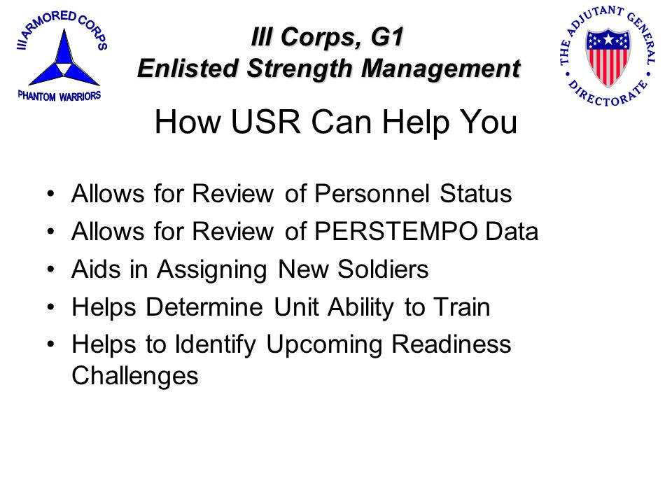 Enlisted Strength Management