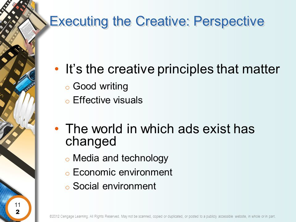 Executing the Creative: Perspective