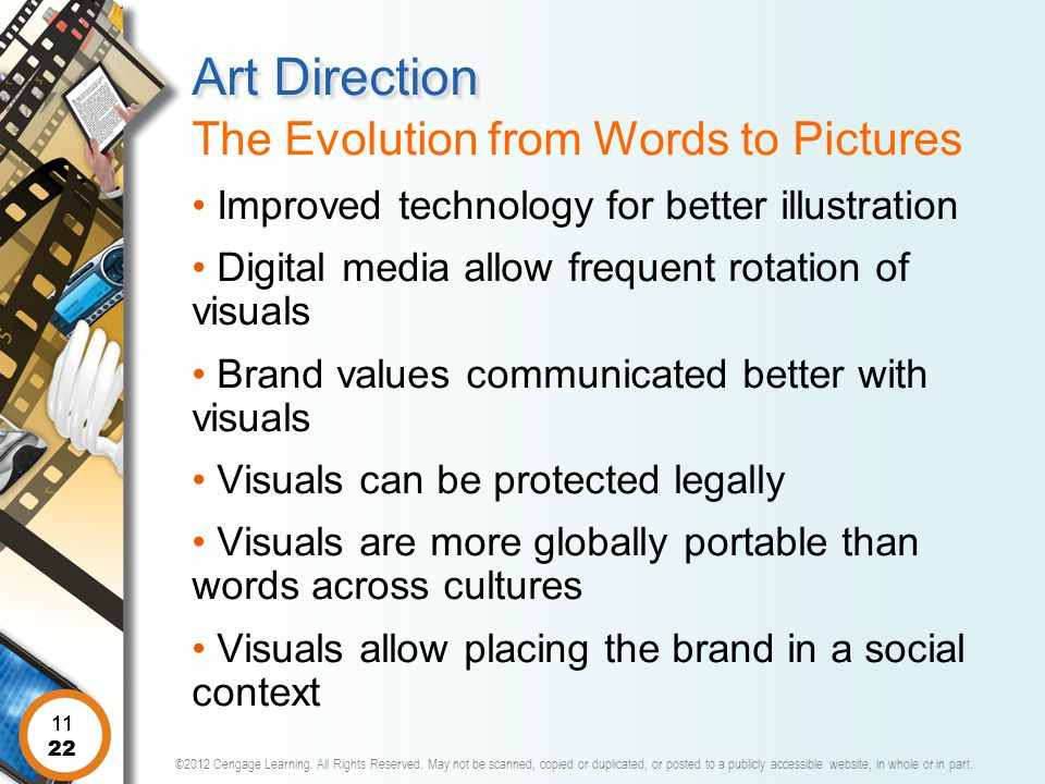 Art Direction The Evolution from Words to Pictures