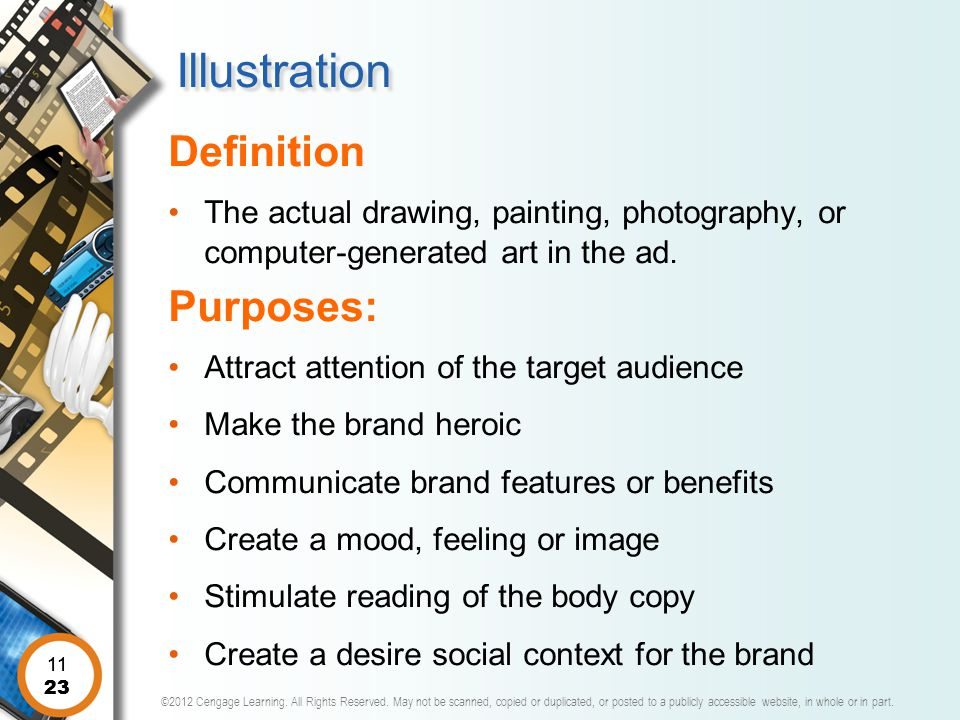 Illustration Definition Purposes: