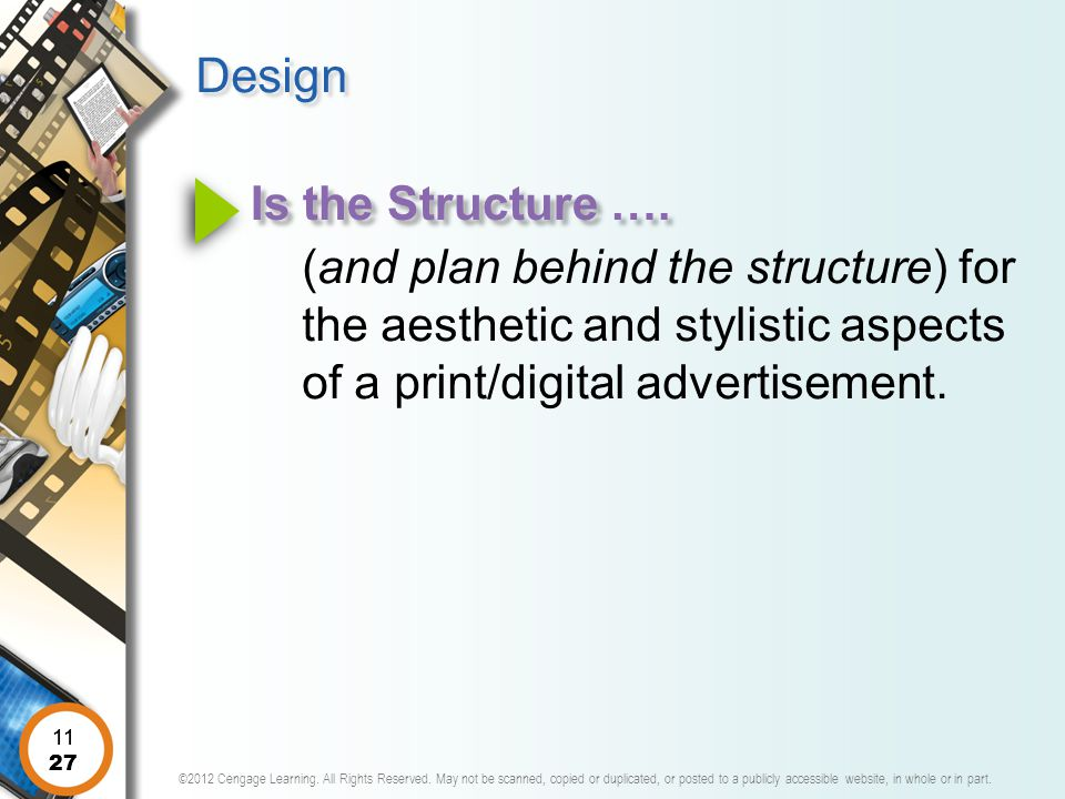 Design Is the Structure ….
