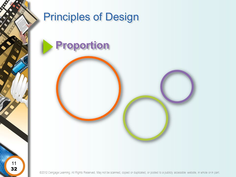 Principles of Design Proportion 11 11 32