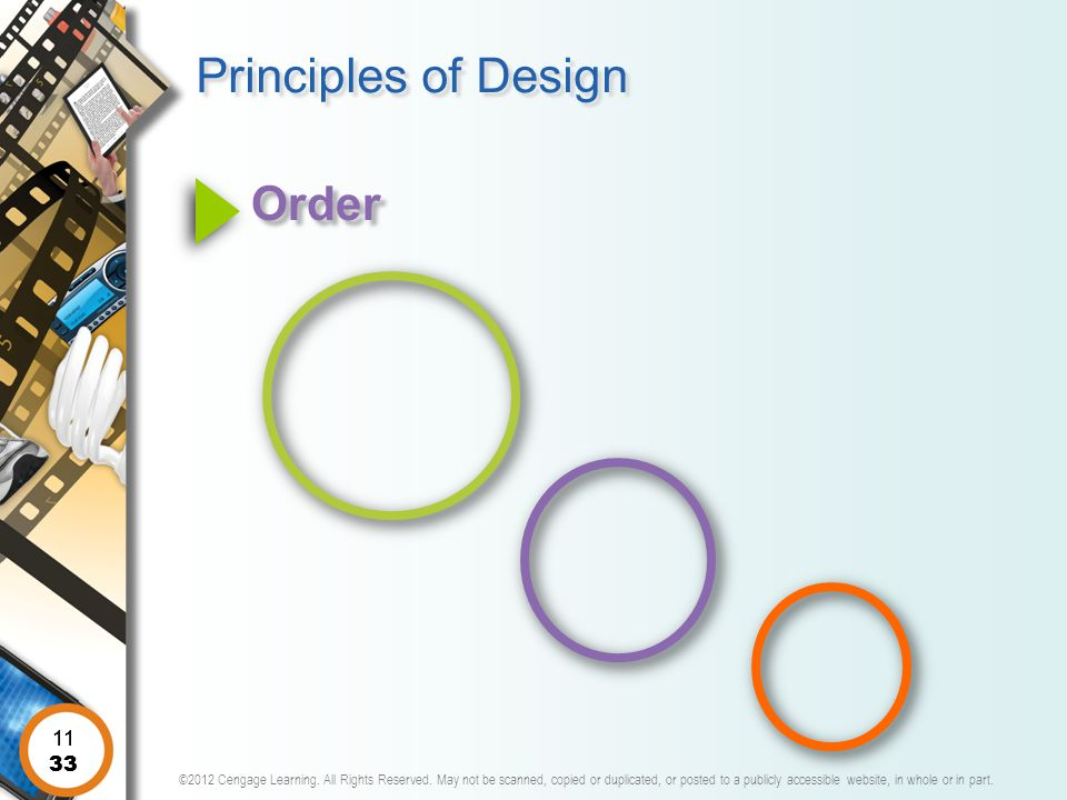 Principles of Design Order 11 11 33