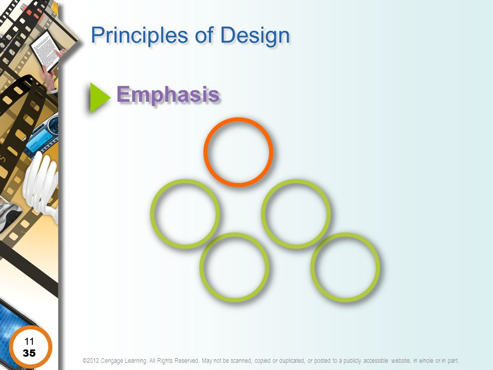 Principles of Design Emphasis 11 11 35