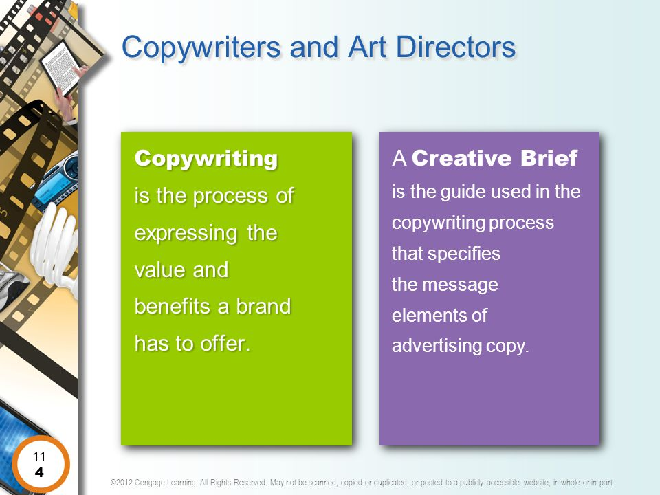 Copywriters and Art Directors