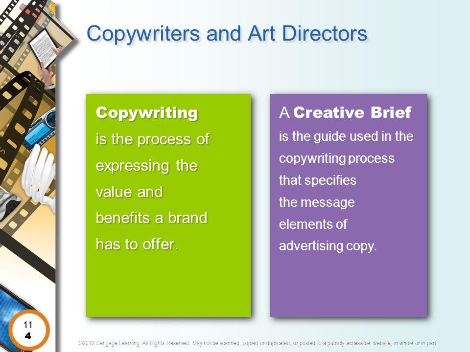 Copywriters and Art Directors