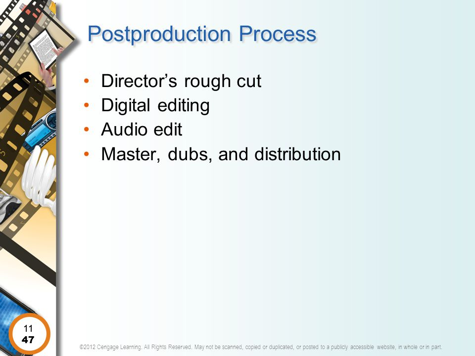 Postproduction Process