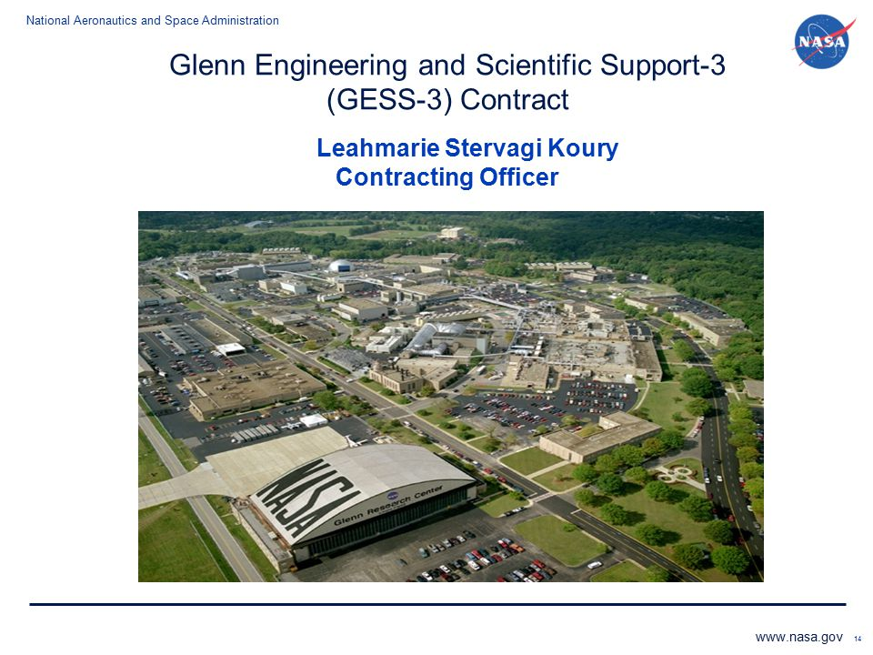 Glenn Engineering and Scientific Support-3 (GESS-3) Contract