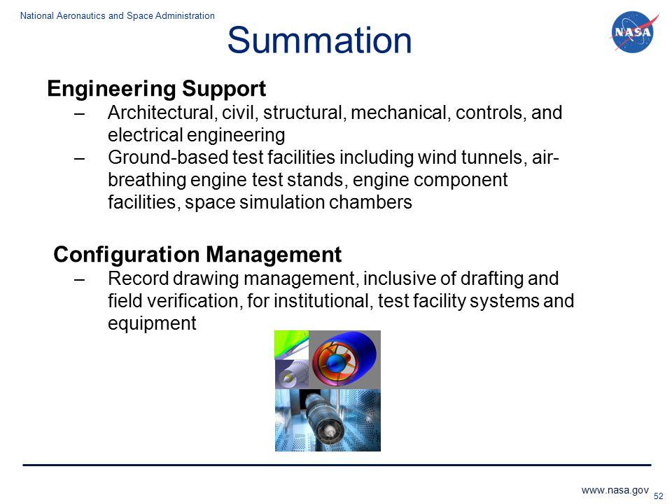 Summation Engineering Support Configuration Management