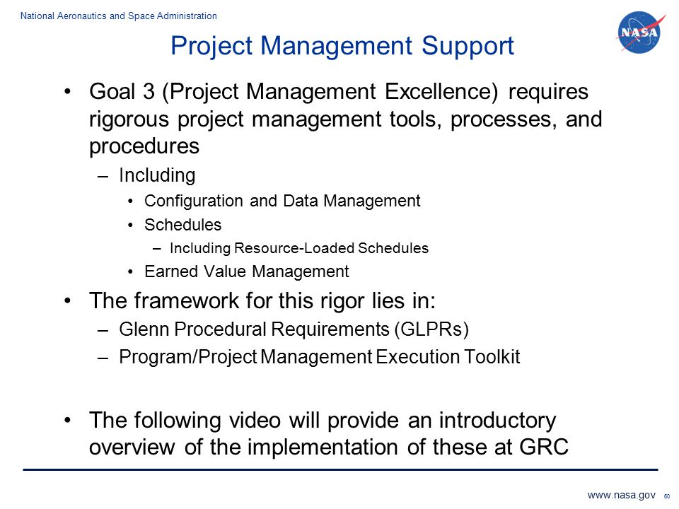 Project Management Support