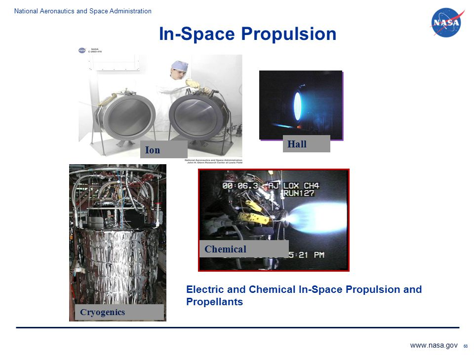 In-Space Propulsion Hall Ion Chemical