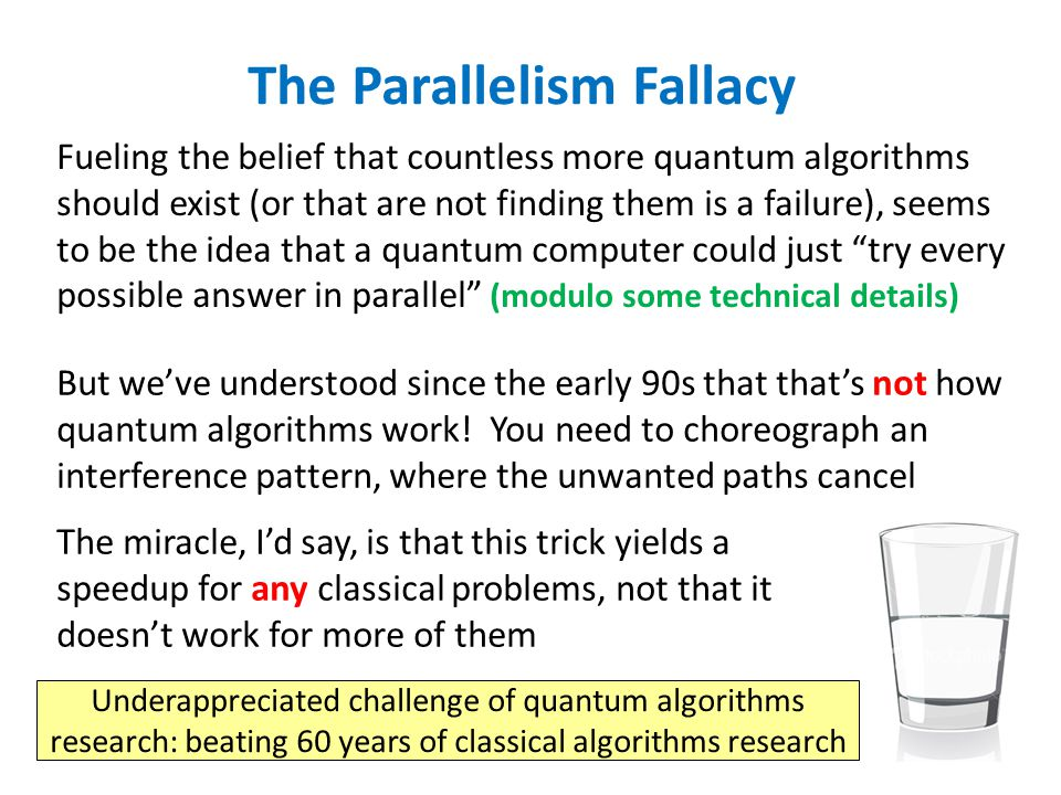 The Parallelism Fallacy