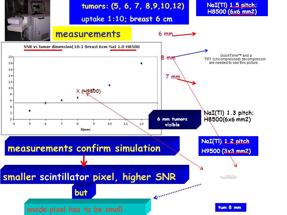 measurements confirm simulation