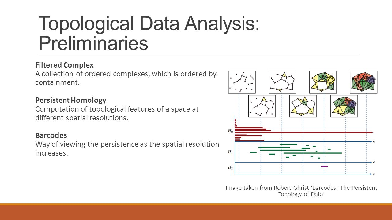 Topological Data Analysis: Preliminaries