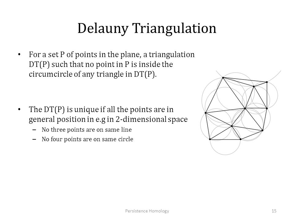 Delauny Triangulation