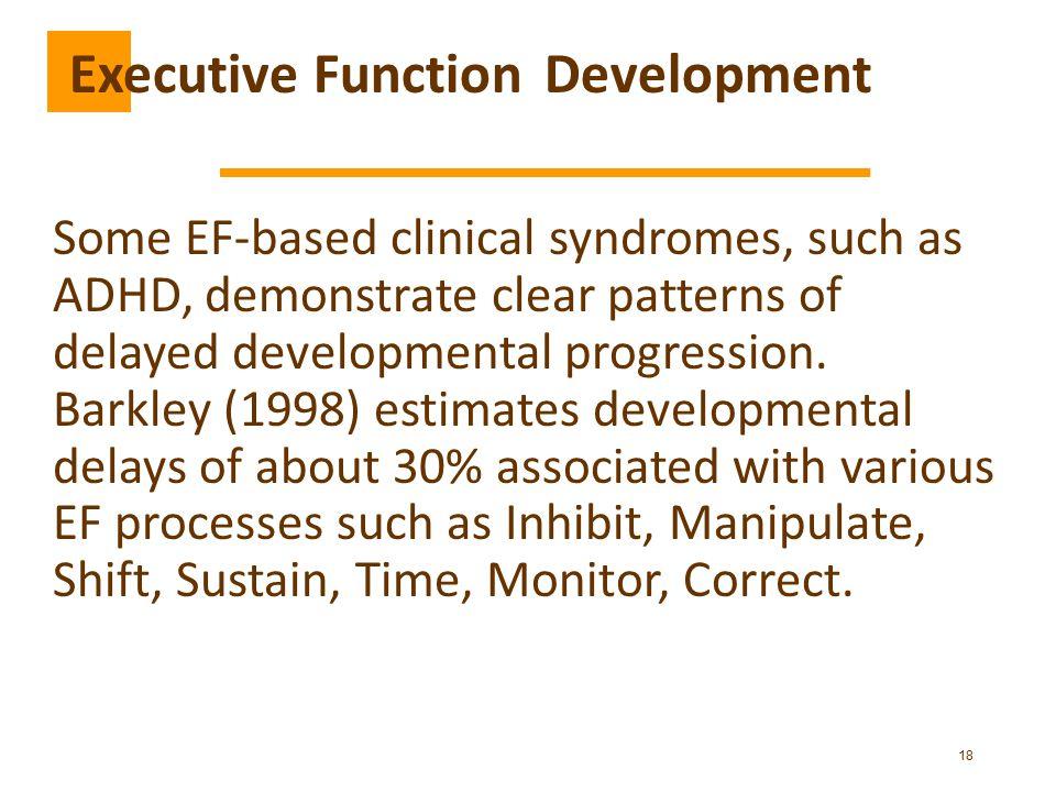 Executive Function Development