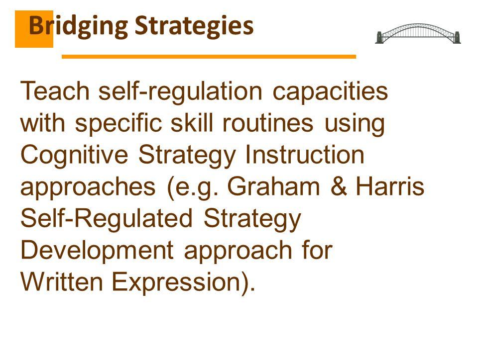 Bridging Strategies