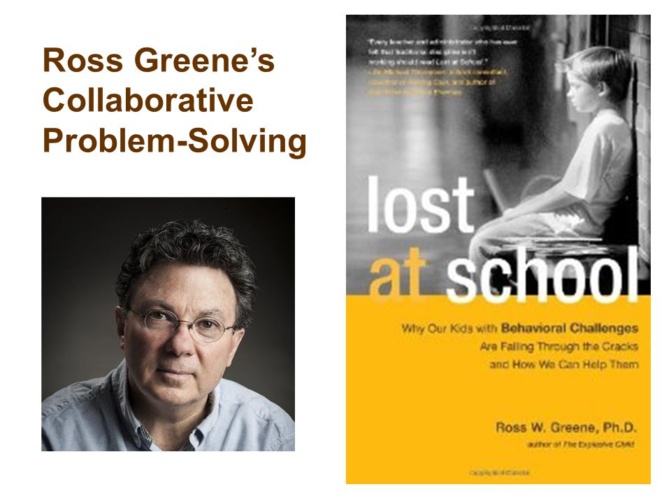 Ross Greene's Collaborative Problem-Solving
